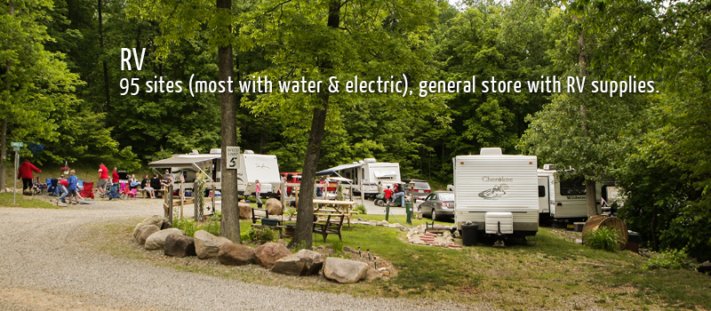 A and E RV Camping Sites